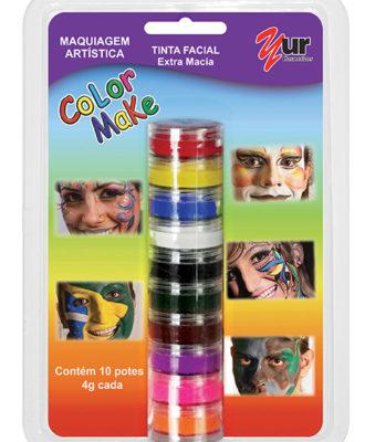 maquiagem artistica color make