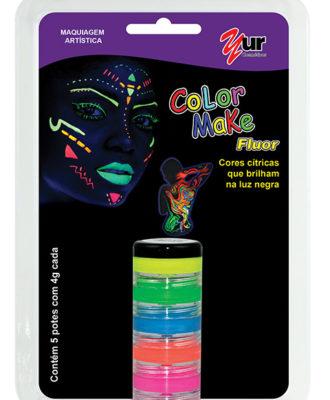 maquiagem artistica color make fluor