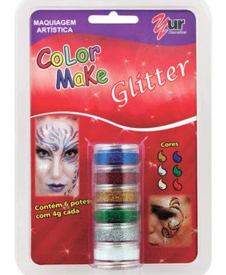 maquiagem artisitica color make glitter