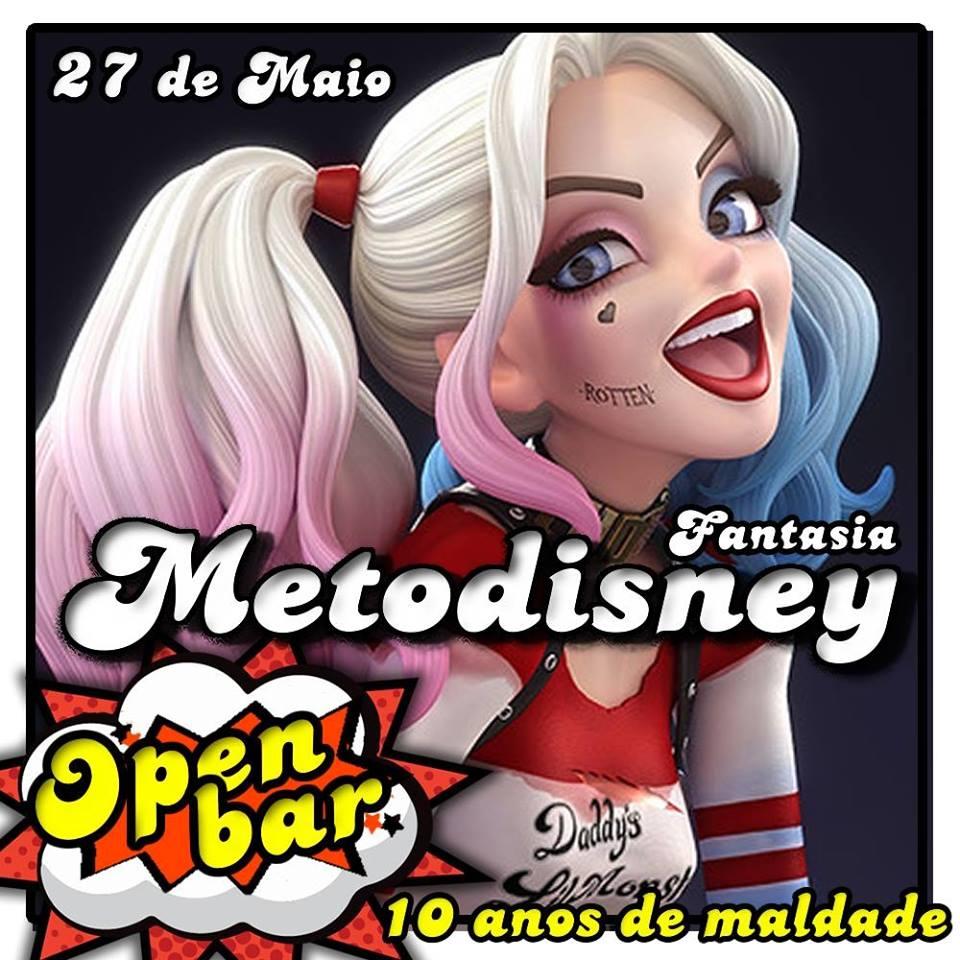 FESTA À FANTASIA - Metodisney Fantasia - 10 anos de maldade!