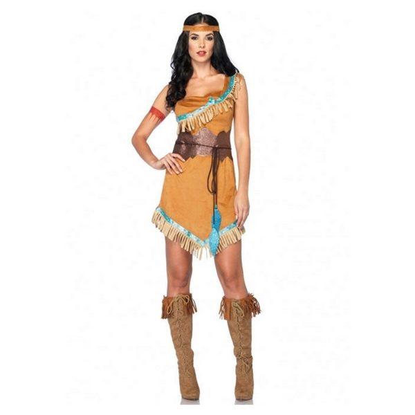 2f0405c56 Fantasia Pocahontas - Aluguel de fantasias online é Encantada!